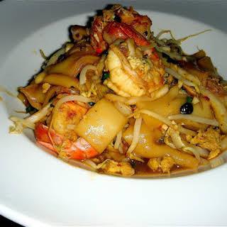 Rad Na Thai Shrimp.