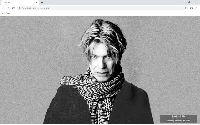David Bowie New Tab & Wallpapers Collection