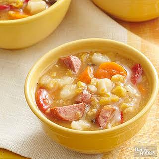 Sausage-Corn Chowder.