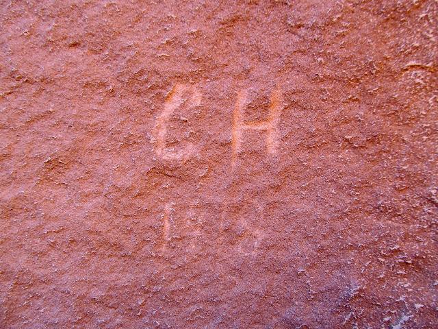 Very tiny inscription:  C.H. 1918
