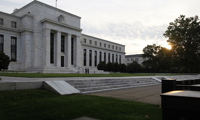 US Federal Reserve building in Washington DC. Picture: REUTERS