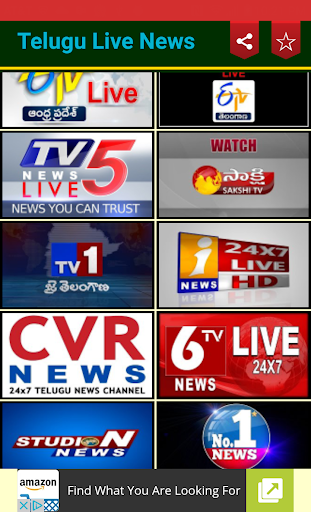 Download Telugu Live News on PC & Mac with AppKiwi APK