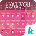 Love you Kika Keyboard 2.0 APK Download