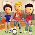 Stickman Summer Sports Athletics Games 3D icon