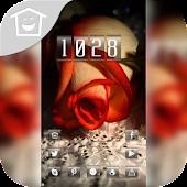 Cute beautiful roses theme