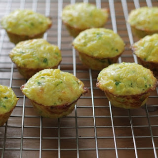 Mini Cheesy Zucchini Egg Muffins