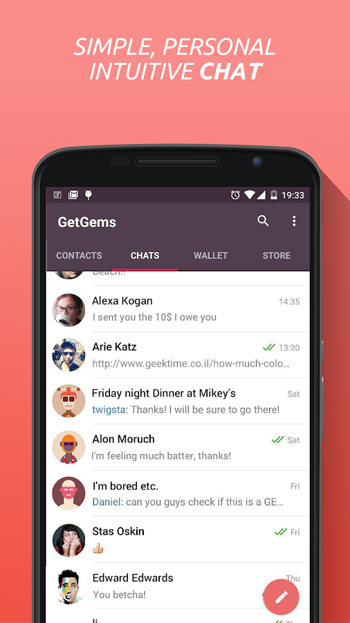 Telegram with GetGems- screenshot