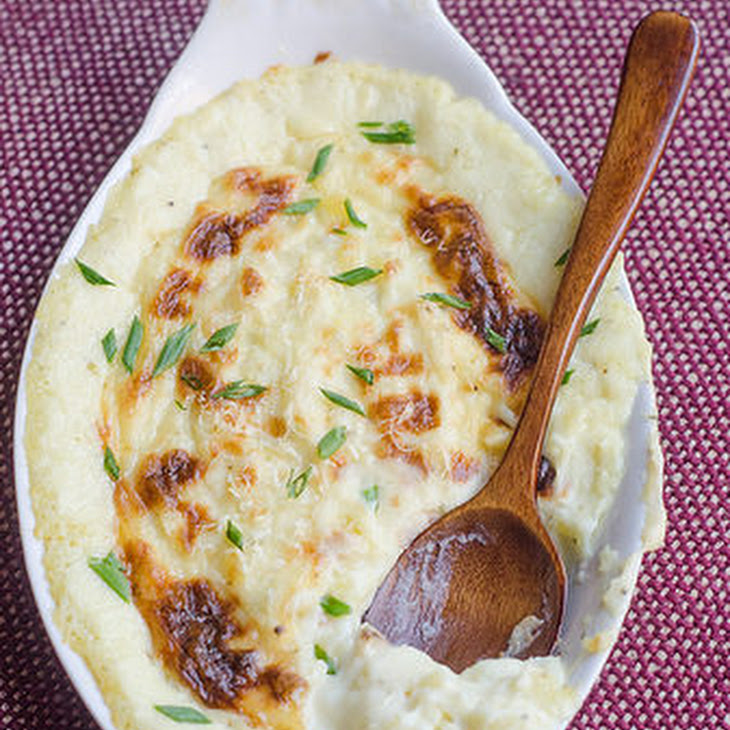 Make Ahead Goat Cheese Mashed Potatoes Recipe