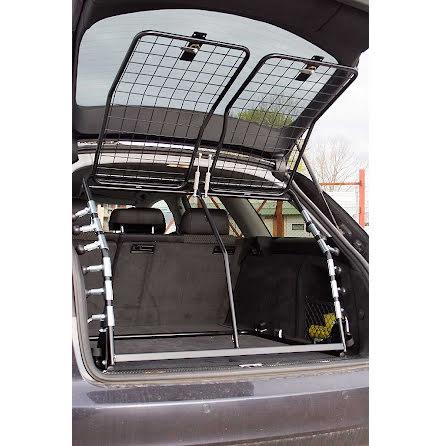 Artfex Hundgrind Dacia Duster - om bil saknar tröskellåda måste golvet höjas upp så att dörr på grind kan öppnas