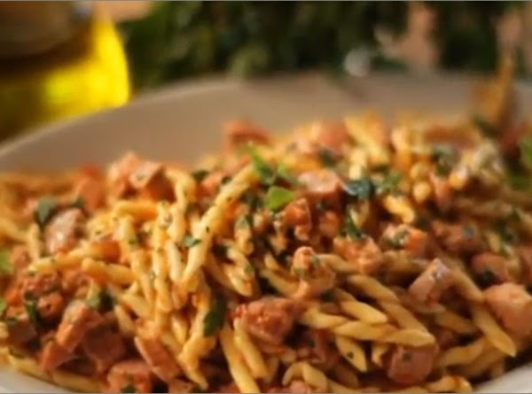Fusilli With Fresh Tuna & Mint Recipe