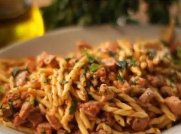 Fusilli With Fresh Tuna & Mint Recipe