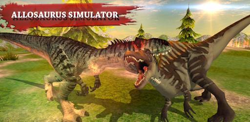 Allosaurus Simulator Dinosaur Survival Battle 3d Apps On Google Play