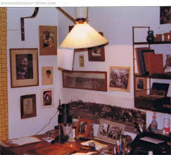 Photo: Уголок кабинета Виктора Некрасова на ул. рю Лабрюйер, Париж, май 1976