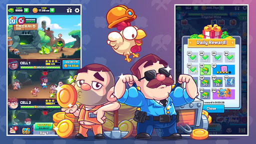 Idle Prison Tycoon: Gold Miner Clicker Game cheat screenshots 5