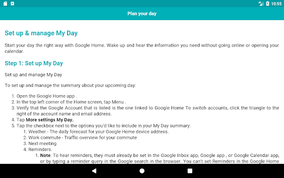 Download User Guide for Google Home APK latest version app for ... on gnome home plans, comcast home plans, benchmark home plans, at&t home plans, houzz home plans, office 365 home plans, shell home plans, minecraft home plans, security home plans, palm home plans, flickr home plans, design home plans, search home plans, mobile home plans, pinterest home plans, zillow home plans, mountain view home plans, four square home plans,