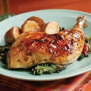 Maple-Thyme Roast Chicken