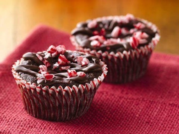 Peppermint Brownie Cupcakes Recipe