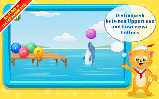 Learn ABC Letters with Captain Cat  screenshots 7