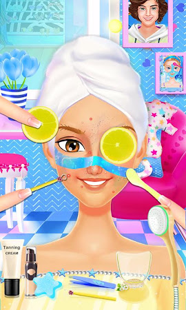 Summer Girls Beach Party Salon 1.4 screenshot 1015073