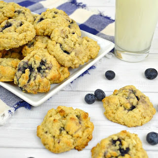 Oatmeal Blueberry Cookies.