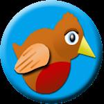 Candy Bobbin Bird Icon