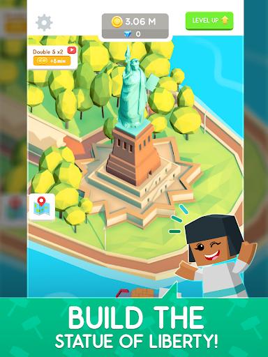 Idle Landmark Tycoon - Builder Game 1.28 Screenshots 10