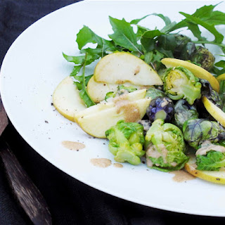 Nordic Superfood Salad with Lemony Dressing.