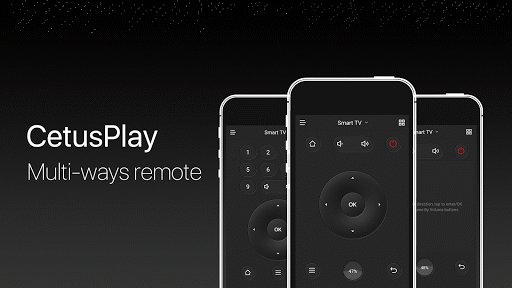 CetusPlay - TV Remote Server Receiver 4.3.2.1-For Android TV screenshots 1