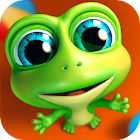 Hi Frog! - Free pet game app icon