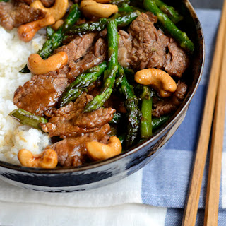 Garlic Beef and Asparagus Stir-fry