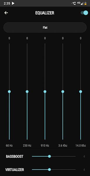 AudioPro Music Player Screenshot Image