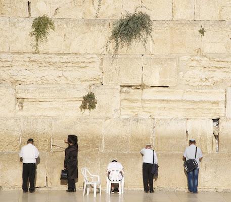 Preghiere al muro del pianto di paolapirollo