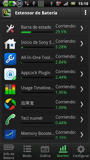 Batería Booster para Android