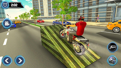 US Motorcycle Parking Off Road Driving Games filehippodl screenshot 19