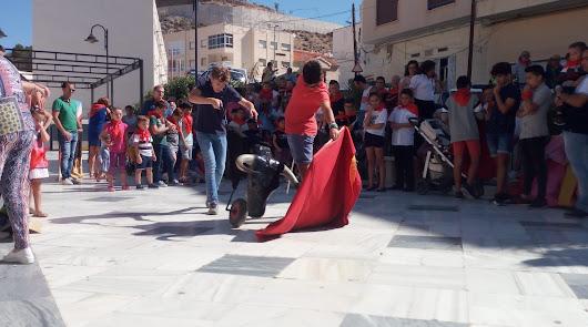 Vuelven en Canjáyar los talleres de tauromaquia para niños
