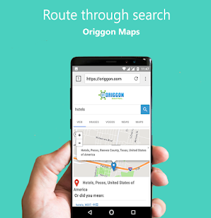 Origgon Official Search & Browser- screenshot thumbnail