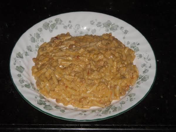 Spicy White Chicken Chili Mac Recipe