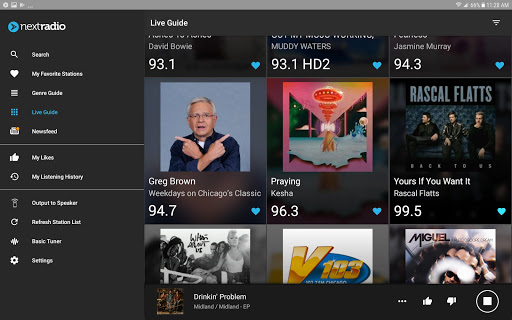 NextRadio Free Live FM Radio 5.0.2351-release screenshots 9