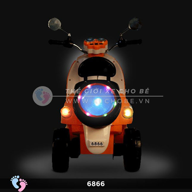 Xe máy điện cho bé mio 6866