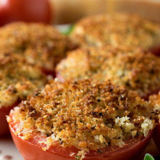 Baked Stuffed Parmesan Tomatoes Recipe