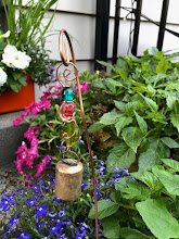 Photo: Garden bells and decor by artist Beth Wright Beth-Wright-Designs