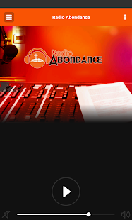 Radio Abondance- screenshot thumbnail