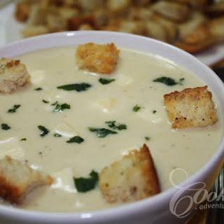 Cauliflower Cream Soup.
