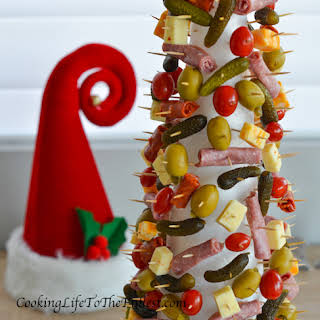 Appetizer Christmas Tree.