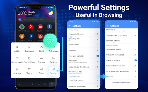 Web Browser - Fast, Privacy & Light Web Explorer 1.6.0 screenshots 17