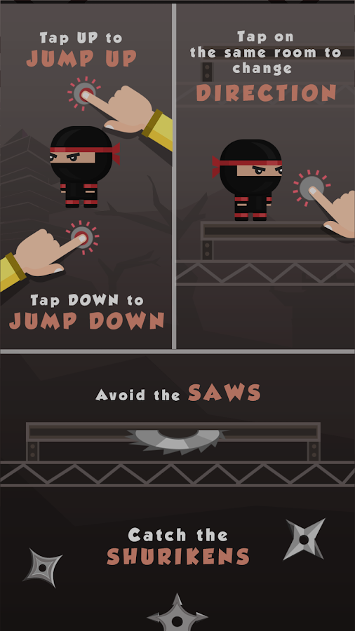 Tap Ninja - Avoid The Saw- screenshot