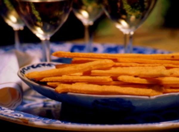 Easy-as-pie Cheese Straws Recipe