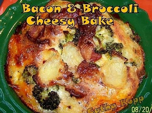 Bacon & Broccoli Cheesy Bake Recipe
