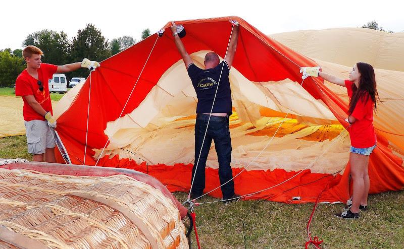 Preparativi al volo di Justinawind