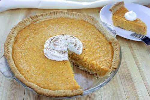 "Sweet Potato Buttermilk Pie ""This sweet potato pie is a pie my..."